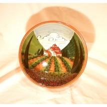 Tuscan landscape Bowl 25