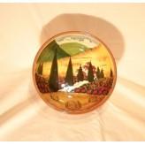 Tuscan landscape Bowl 20