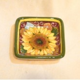 Sunflower square tray 10