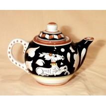 BW teapot