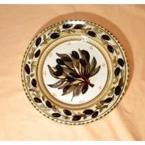 Olive medium plate