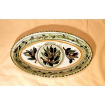 Olive medium oval tray
