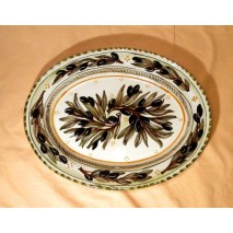 Olive large oval plate