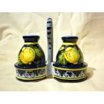 Lemon salt/pepper set