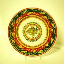 Contrada Drago plate