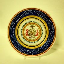 Contrada Nicchio plate