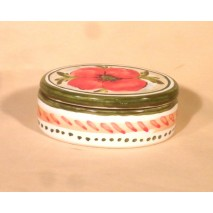 "Poppy jewel box ""Oval"""