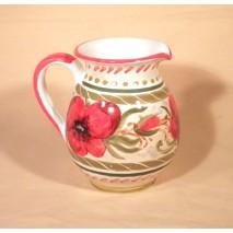 Poppy pitcher medium