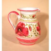 Poppy pitcher large