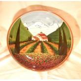 Tuscan landscape Bowl 40