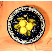 Lemon round tray 30