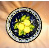 Lemon round tray 40