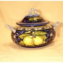 Lemon cookie-pot