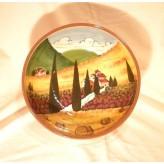 Tuscan landscape Bowl 30